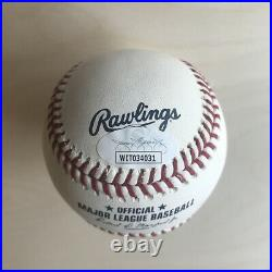 Bobby Witt Jr. Autographed Signed Home Run Derby Baseball JSA COA (WIT034031)