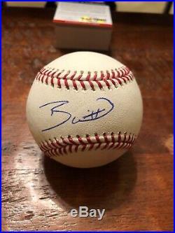 Bobby Witt Jr Signed 2018 Home Run Derby Baseball PSA DNA Coa Royals