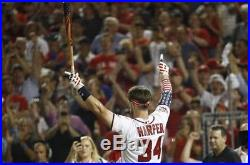 Bryce Harper 2018 Home Run Derby Game Used Batting Glove