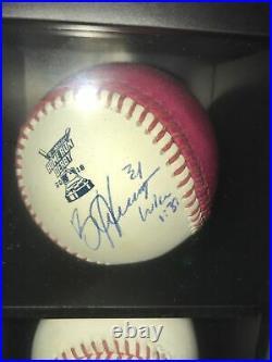 Bryce harper autographed 2018 homerun derby ball