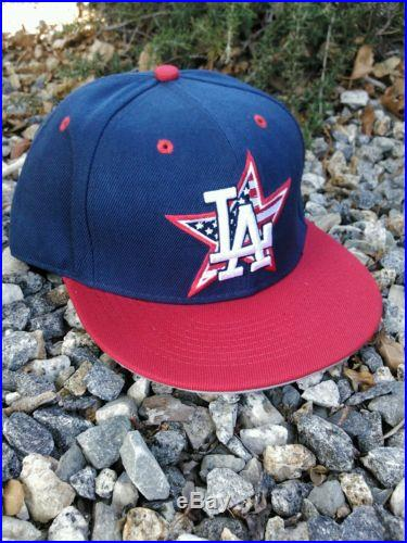 CUSTOM LOS ANGELES DODGERS HOMERUN DERBY SNAPBACK HAT KERSHAW ALL STAR MLB LA