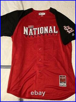 Carlos Martinez 2015 MLB All Star Workout Day/Home Run Derby Autographed Jersey