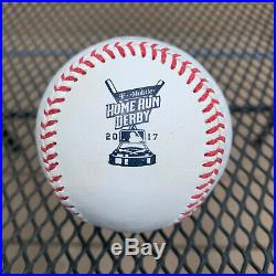 Charlie Blackmon 2017 Home Run Derby Used Ball Rockies Game Used