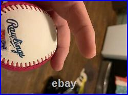 Chipper Jones autograph baseball home run derby