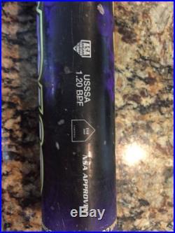 Combat Lady Virus JUICED VIRSP3 33/25 Softball Bat ASA STAMP HOMERUN DERBY BAT