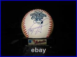 David Ortiz Signed 2005 Rawlings Home Run Derby Money Ball -boston Red Sox-papi