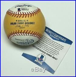 David Ortiz Signed 2010 Home Run Derby Major League Baseball MLB B. P. BAS