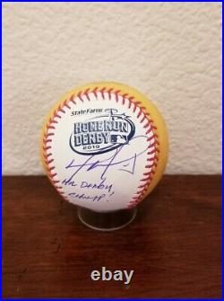 David Ortiz Signed 2010 Homerun Derby Moneyball Boston Red Sox