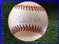 Derek Jeter Autographed Baseball Ball- Home run Derby 2007 Yankees -Rawlings MLB