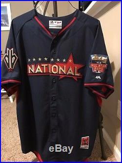 Diamondbacks Paul Goldschmidt 14 MLB Workout Day/Home Run Derby Autograph Jersey