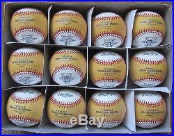 Dozen Rawlings 2011 Home Run Derby Baseballs Retro 2 Tone