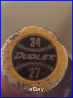 Dudley Lightning Legend Senior Balanced 34/27 Home Run Derby Bat, HOT