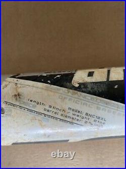Easton Omen Xl 31 -10/ Homerun Derby Bat/ Shaved And Rolled/ Super Hot