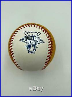 Frank Robinson 1966 Triple Crown 586 HR Signed Home Run Derby Baseball PSA DNA