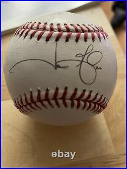 GAME USED Auto All Star HR Baseball HOME RUN DERBY Jason Giambi Yankees As 2002