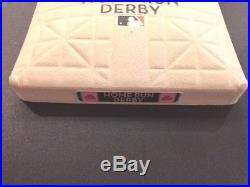 Game Used 2007 Home Run Derby Base MLB Authenticated