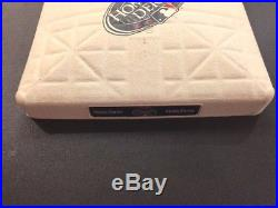 Game Used 2008 Home Run Derby Base MLB Authenticated