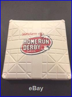 Game Used 2010 Home Run Derby Base MLB Authenticated