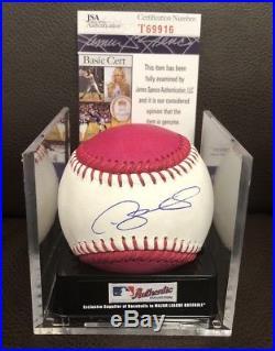 Gary Sanchez Signed Auto 2017 Home Run Derby Romlb Baseball Ny Yankees Jsa Coa