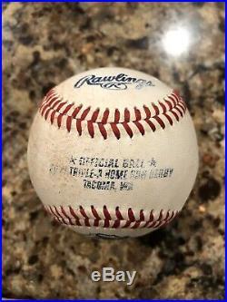 HOME RUN DERBY Rawlings 2017 Triple A Official All Star Game Baseball Ball HRD