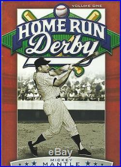 Home Run Derby DVD Volume 1 Mickey Mantle Ernie Banks Hank Aaron