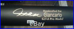 Home Run Derby King Giancarlo Stanton Autographed Marucci Game Bat withCOA