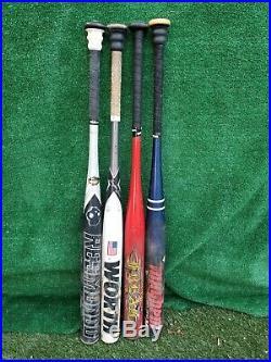 Homerun derby slowpitch softball bats(Worth Resmondo 98 white)