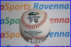 Joe Mauer Autographed 2009 Home Run Derby ROML Baseball Twins MLB Hologram