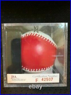 Josh Hamilton 2008 Home Run Derby Signed Baseball RARE Autograph Auto JSA COA