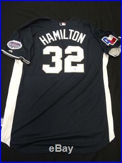 Josh Hamilton Signed 2008 Home Run Derby Jersey Autograph Auto PSA/DNA Z25653