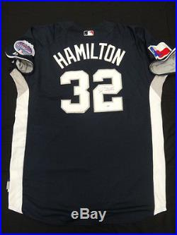 Josh Hamilton Signed 2008 Home Run Derby Jersey Autograph Auto PSA/DNA Z25655