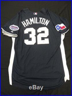 Josh Hamilton Signed 2008 Home Run Derby Jersey Autograph Auto PSA/DNA Z25656