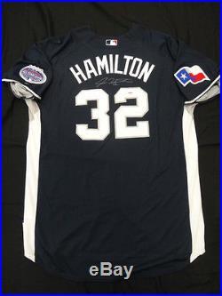 Josh Hamilton Signed Authentic 2008 Home Run Derby Jersey Auto PSA/DNA Z25488