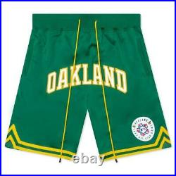 Just Don Mitchell & Ness Oakland Athletics 1987 HOMERUN DERBY AUTHENTIC Shorts