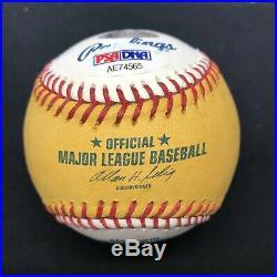 Justin Morneau 08 HR Derby Champ Signed Home Run Baseball PSA/DNA