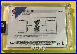 KYLE SCHWARBER GU SSP 2018 Topps Now Home Run HR DERBY Multi Color Relic #/49