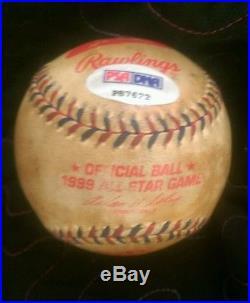Ken Griffey Jr. Signed 1999 Home Run Derby ball PSA auto