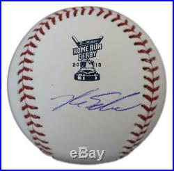 Kyle Schwarber Autographed Chicago Cubs 2018 Home Run Derby Baseball JSA 24712