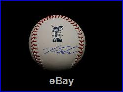 Kyle Schwarber Ip Auto Signed 2018 Hrd Home Run Derby Baseball Cubs