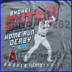 La Angeles New Era Shohei Ohtani Home Run Derby 2021 Tee Small Mlb