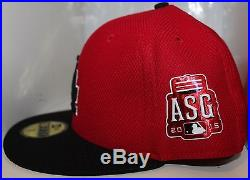 Los Angeles Dodgers MLB 2015 ASG Home Run Derby New Era 59Fifty fitted hat Red