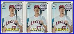 Lot Of (3) Shohei Ohtani 2018 Topps Heritage High Number Rookie Card Lot #600 RC