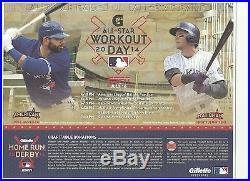 MLB 2014 All Star Home Run Derby program/scorecard