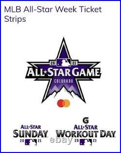 MLB All Star Game Full Strip In The BLEACHERS! Home Run Derby In The Bleacher