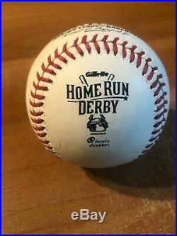 Manny Machado Game Used Hit 2015 All Star Game Home Run Derby Baseball
