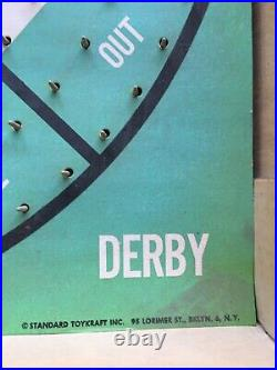 Mickey Mantle & Roger Maris Home Run Derby Dartboard 1962