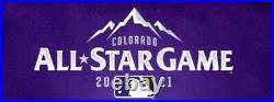 Mlb 2021 All-star Game Home Run Derby Futures 2 Ticket Strips Denver Colorado