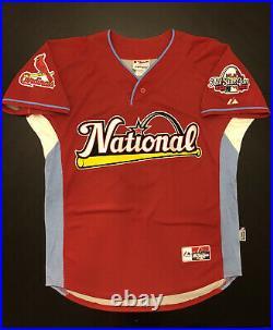 NWOT Albert Pujols 2009 All Star Game Home Run Derby Jersey St. Louis Cardinals