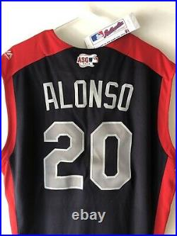 NWT 2019 Pete Alonso NY Mets All-Star Home Run Derby Jersey Authentic Size 48