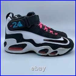 Nike Air Griffey Max 1 Home Run Derby 2012 Mens Size 8 White Black Turquoise